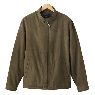 Croft and Barrow Microsuede Jacket - Men