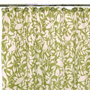 Waverly Birdsong Fabric Shower Curtain