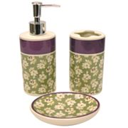 Waverly Floriana 3-pc. Bath Accessory Set