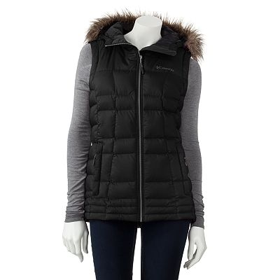Columbia Hooded Puffer Vest