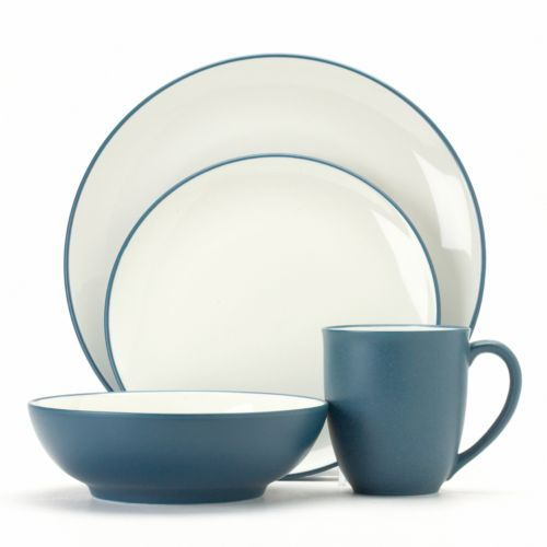 Noritake Colorwave Blue Coupe 4-pc. Place Setting