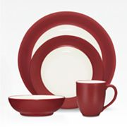 Noritake Colorwave Raspberry Rim 4-pc. Place Setting