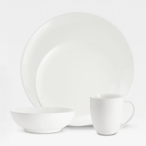 Noritake Colorwave White Coupe 4-pc. Place Setting