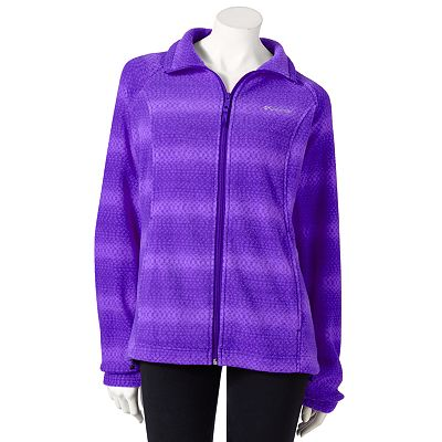 Columbia Striped Fleece Jacket