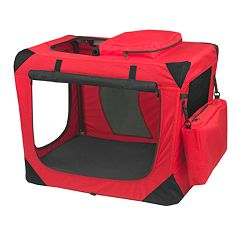 Pet Gear Generation II Deluxe 28 1/2 in Portable Soft Crate