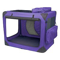 Pet Gear Generation II Deluxe 29 1/2 in Portable Soft Crate