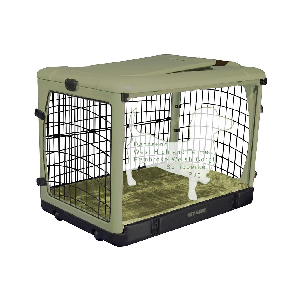Pet Gear The Other Door Pet Crate and Plush Pad - Small