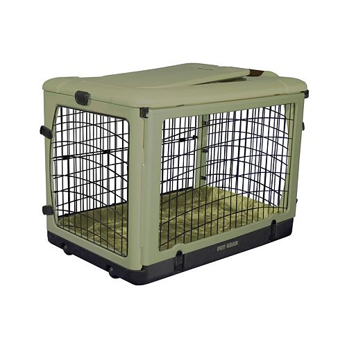 Pet Gear The Other Door Pet Crate & Plush Pad - Small