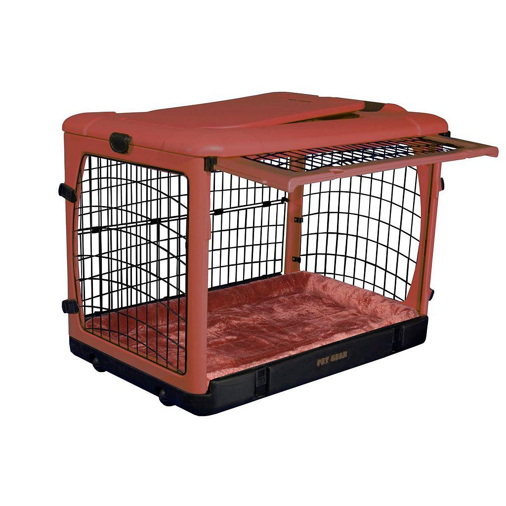 Pet Gear The Other Door Pet Crate and Plush Pad - Medium