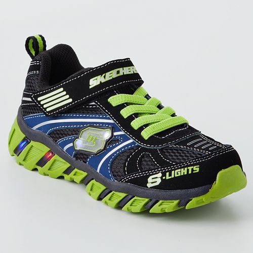 Skechers Ignus Boys' Light-Up Shoes