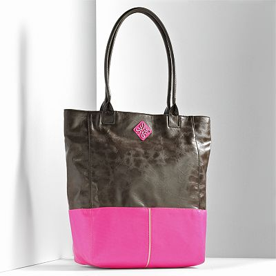 Simply Vera Vera Wang Anjelique Colorblock Tote