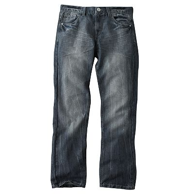 Helix Slim Straight Jeans