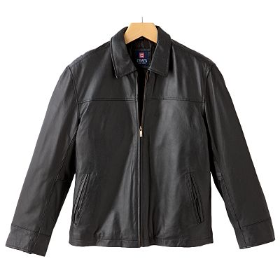 Chaps Leather Jacket