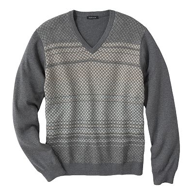 Van Heusen Mini Diamond V-Neck Sweater
