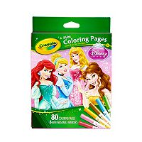 Disney Princess Mini Coloring Pages by Crayola