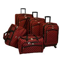 American Flyer Madrid 5-Piece Luggage Set