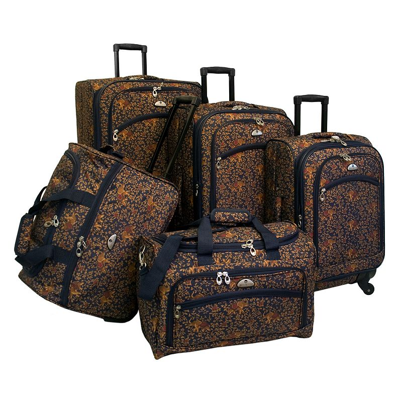 American Flyer Luggage, 5-pc. Budapest Luggage Set, Blue