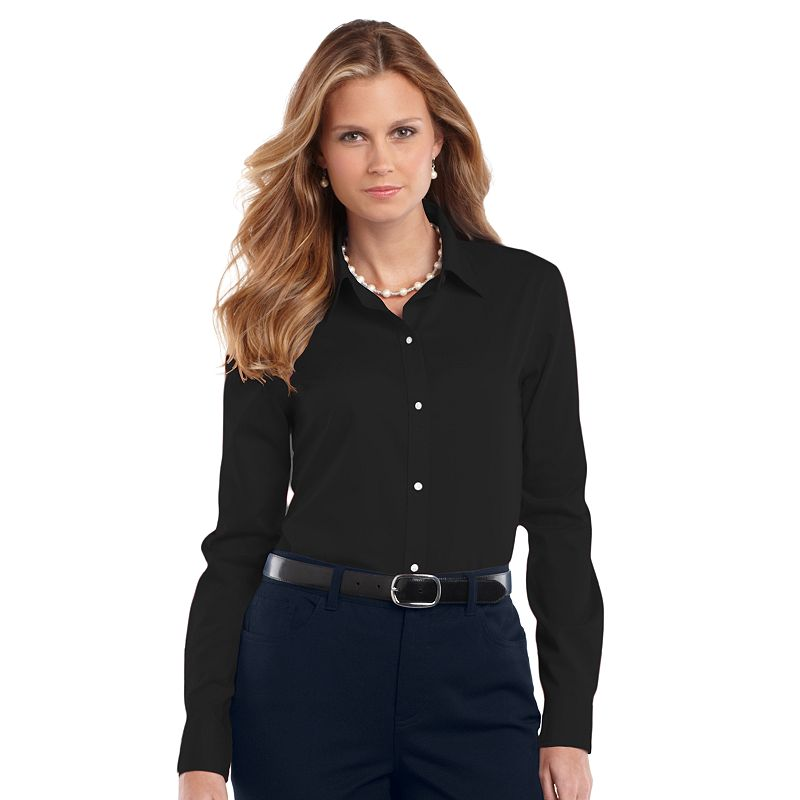 Deals on womens plus size clothing for No iron white shirt womens