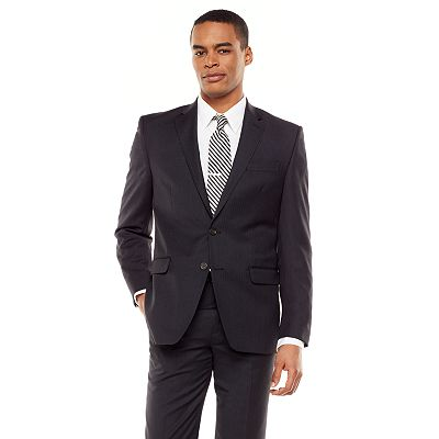 Chaps Classic-Fit Pinstripe Wool Suit Jacket