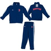 adidas Boston Red Sox Jacket and Pants Set - Toddler