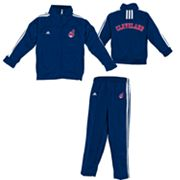 adidas Cleveland Indians Jacket and Pants Set - Toddler