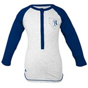 adidas New York Yankees Baseball Tee - Girls' 7-16
