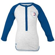 adidas Chicago Cubs Baseball Tee - Girls' 7-16