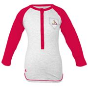 adidas St. Louis Cardinals Baseball Tee - Girls' 7-16