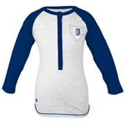 adidas Detroit Tigers Baseball Tee - Girls' 7-16