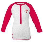 adidas Philadelphia Phillies Baseball Tee - Girls' 7-16
