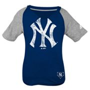 adidas New York Yankees Tee - Girls' 7-16