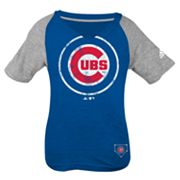 adidas Chicago Cubs Tee - Girls' 7-16