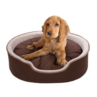 Roxie and Rover Oval Cuddler Pet Bed