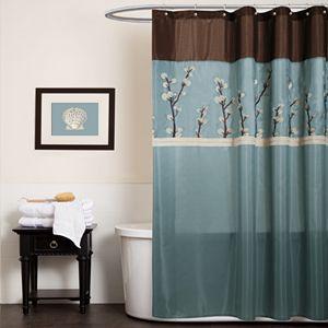 Sinatra Fabric Shower Curtain 2 Regular