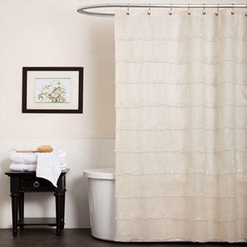Lush Decor La Sposa Fabric Shower Curtain