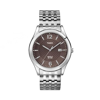 Timex Silver Tone Expansion Watch - T2N8489J - Women