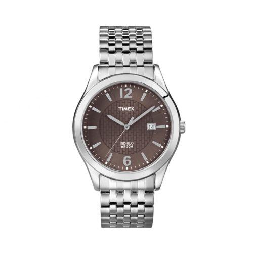 Timex Silver Tone Expansion Watch - T2N8489J - Men