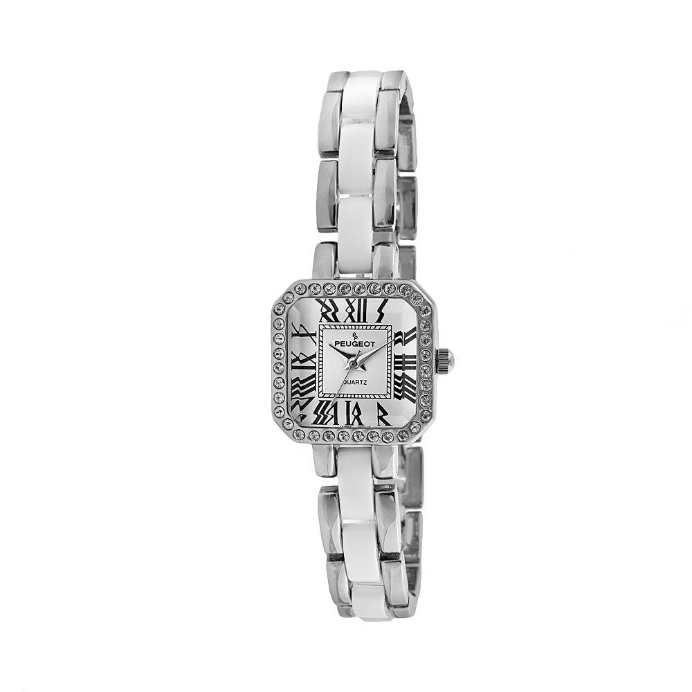 Peugeot Women's Crystal Watch - 7072WT