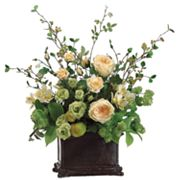 Allstate Floral 28-in. Artificial Rose, Hops And Alstroemeria Floral Arrangement
