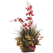 Allstate Floral 30-in. Artificial Orchid And Moss Floral Arrangement