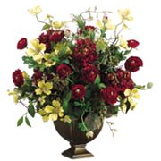 Allstate Floral 26-in. Artificial Hydrangea, Ranunculus And Dogwood Floral Arrangement