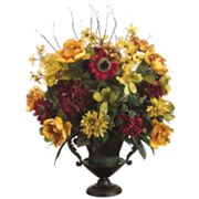 Allstate Floral 32-in. Artificial Mum, Peony, Sunflower And Hydrangea Floral Arrangement