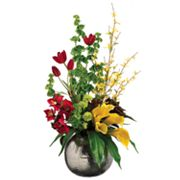 Allstate Floral 34-in. Artificial Tulip, Calla Lily And Bells Of Ireland Floral Arrangement