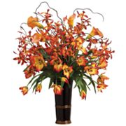 Allstate Floral 31-in. Artificial Orchid, Tulip And Calla Lily Floral Arrangement