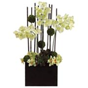 Allstate Floral 39-in. Artificial Orchid And Moss Floral Arrangement