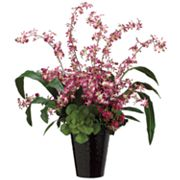 Allstate Floral 32-in. Artificial Orchid And Grass Floral Arrangement