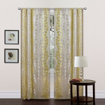 Lush Decor Teardrops Window Panels - 38
