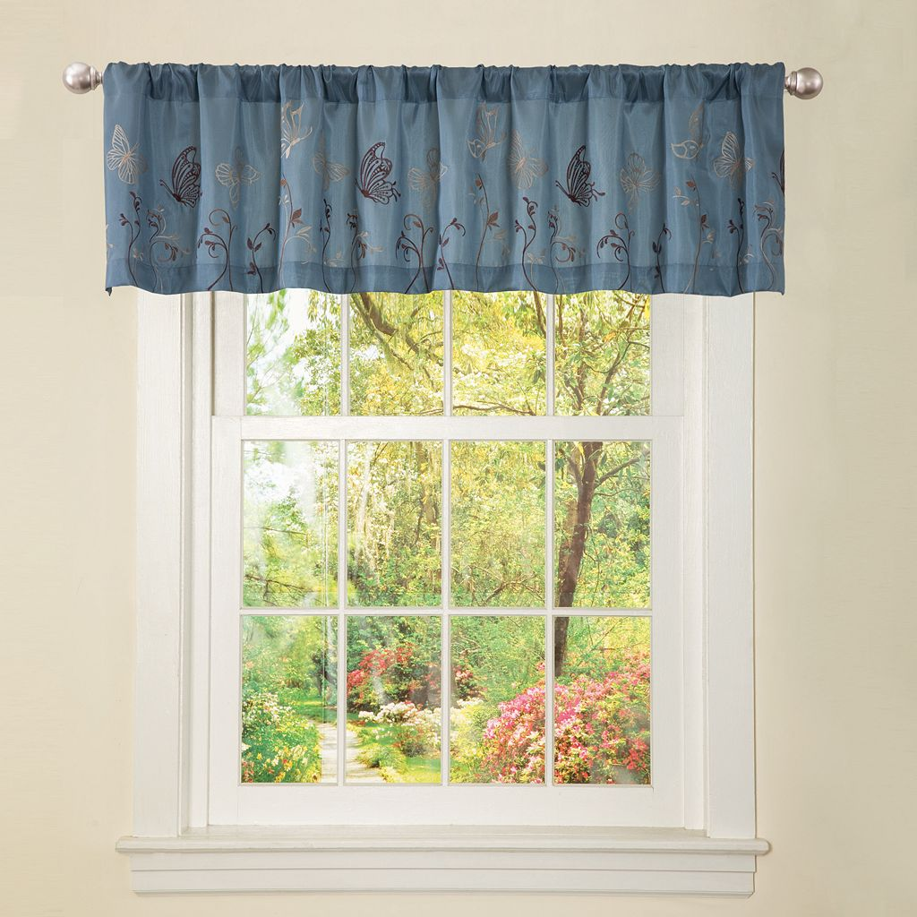 Lush Decor Butterfly Dreams Window Valance - 18