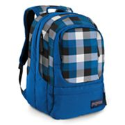 JanSport Air Cure Block Check 15-in. Laptop Backpack