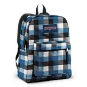 JanSport SuperBreak Block Check Backpack